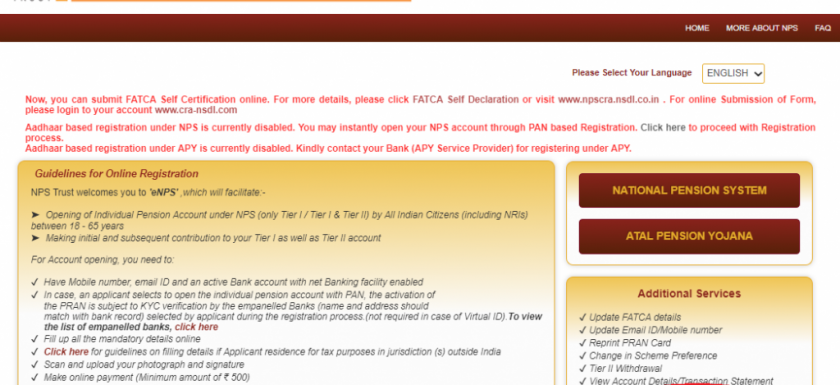 NPS registration, My nps login, NPS contribution, NPS statement, www.cra-nsdl.com first time login, NPS form, NPS calculator, Karvy nps login,