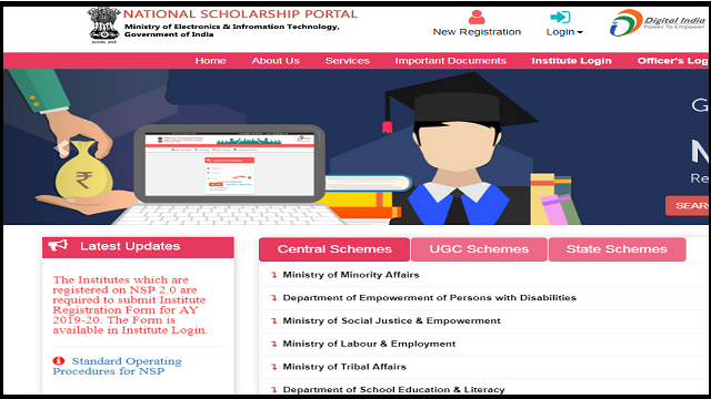 National scholarship portal 2019-20, National scholarship portal 2019 to 2020, National scholarship portal list, Nsp login, National scholarship portal last date, NSP scholarship 2020, How to withdraw national scholarship portal, Bihar scholarship 2020,