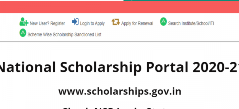 NSP scholarship 2020, NSP login, Scholarship form pdf, National scholarship portal 2019-20, www.scholarships.gov.in 2020-21, National scholarship portal list, NSP institute login, NSP scholarship list 2020,